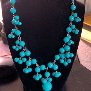 Talbots Turquoise Statement Necklace